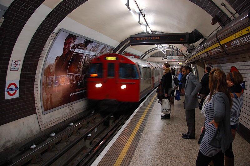 Лондонский метрополитен