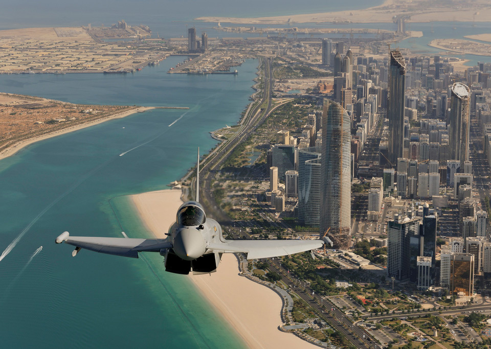 Абу-Даби с высоты птичьего полута