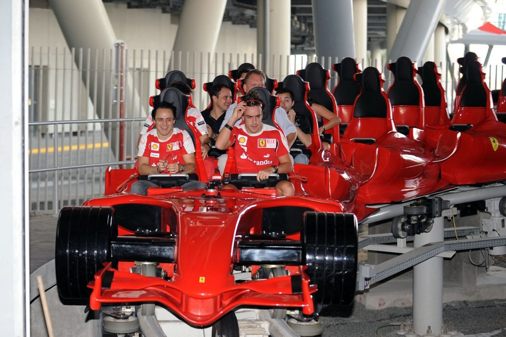 Аттракцион Ferrari World
