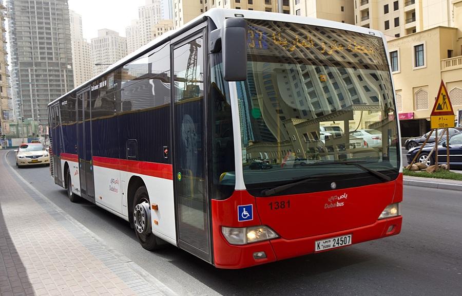 Автобусы в Дубае
