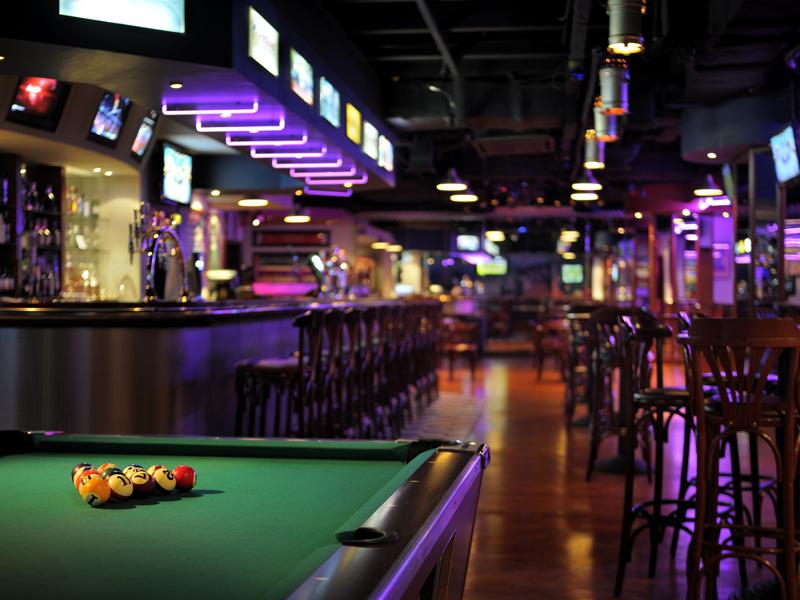 Бар Lagoon's Sports Bar