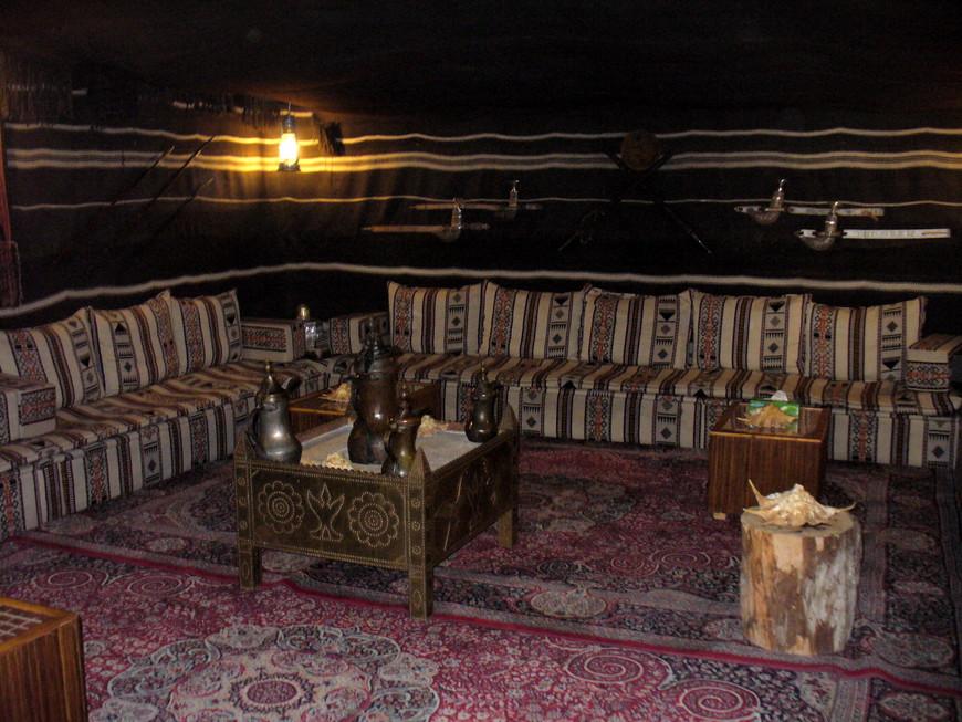 Бедуинский шатер