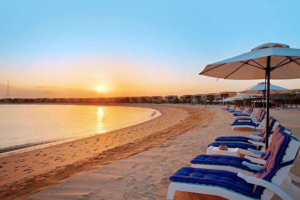 Чистые пляжи Рас-аль-Хаймы
