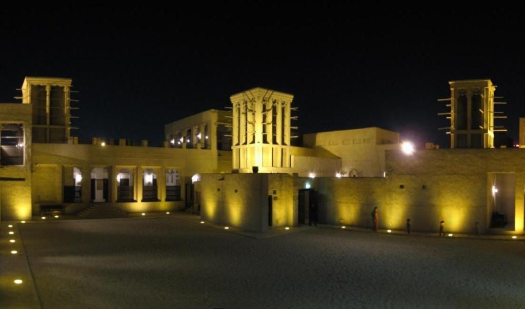 Дом-музей шейха Саида ночью