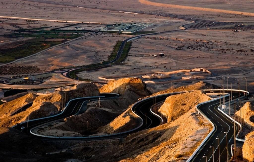 Горная дорога Jebel Hafeet