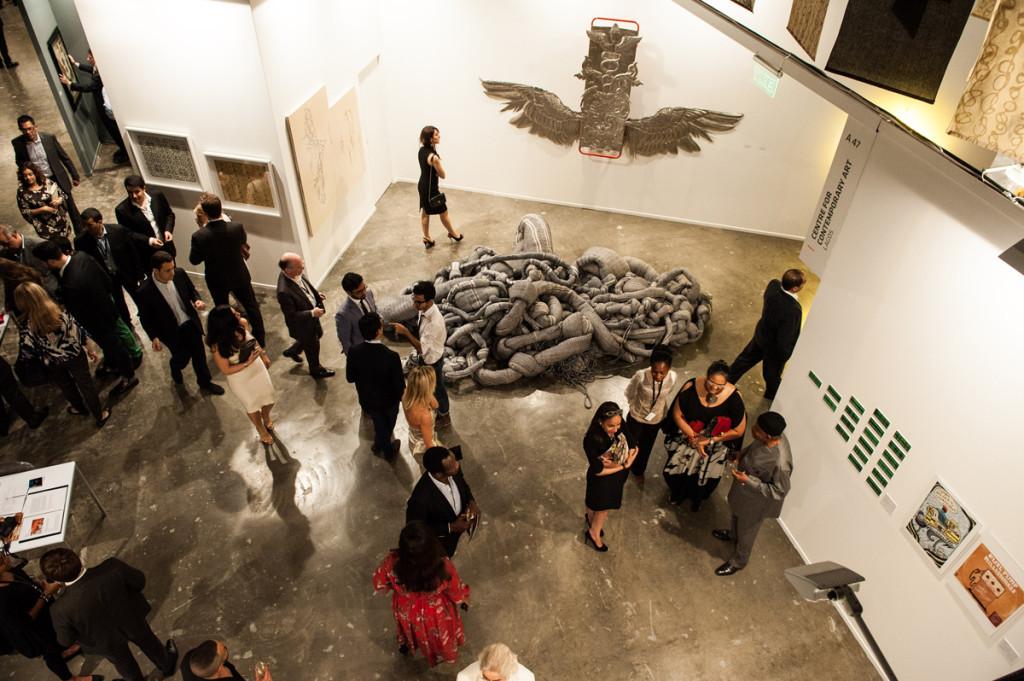 Инсталляции на выставке Art Dubai