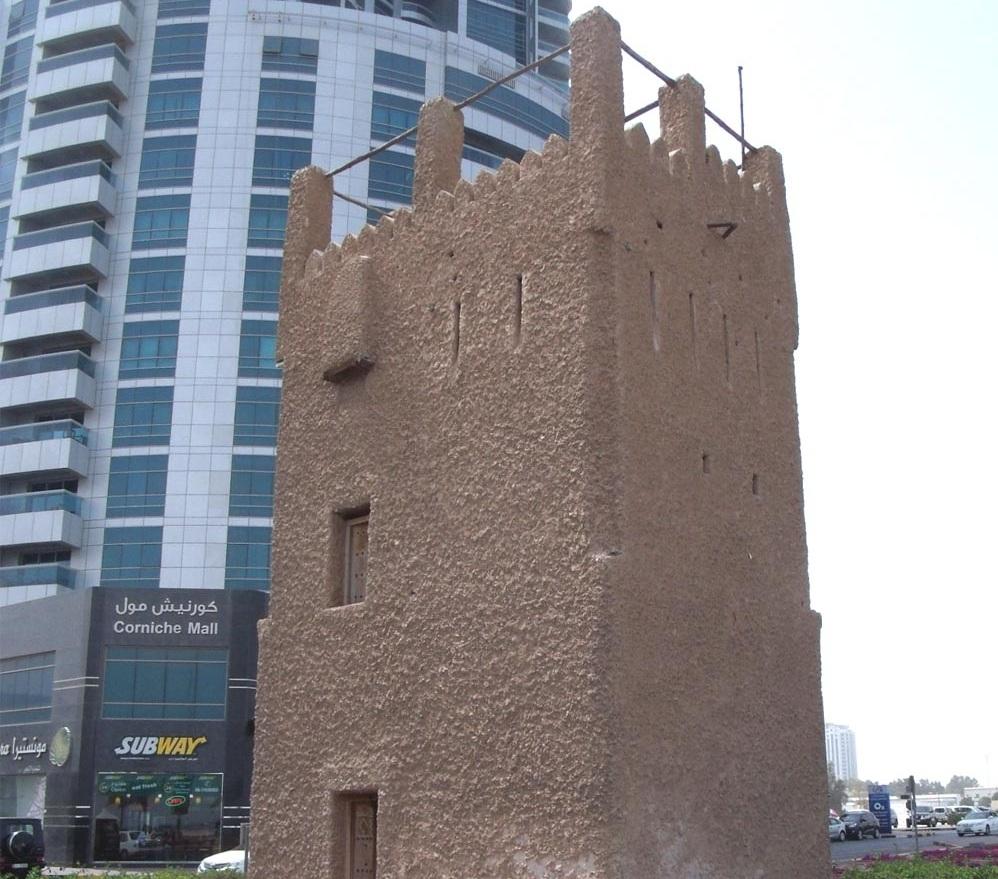 Квадратная башня в Аджмане