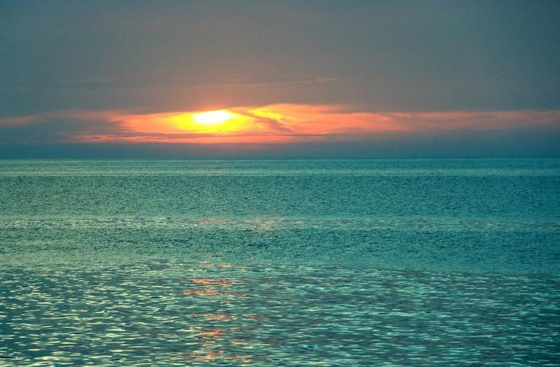 Лазурные воды Персидского залива