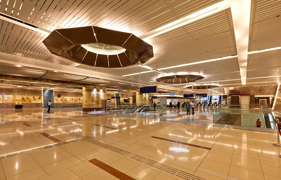 Метро в эмирате Дубай