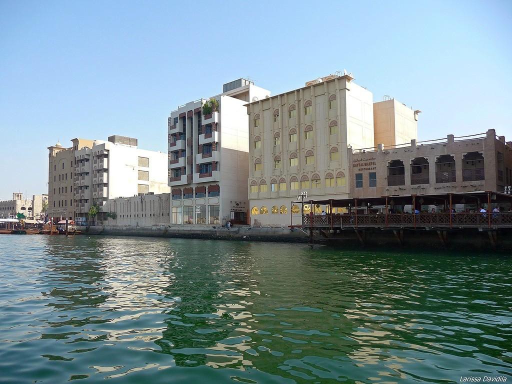 Набережная Дубайской бухты района Бур-Дубай