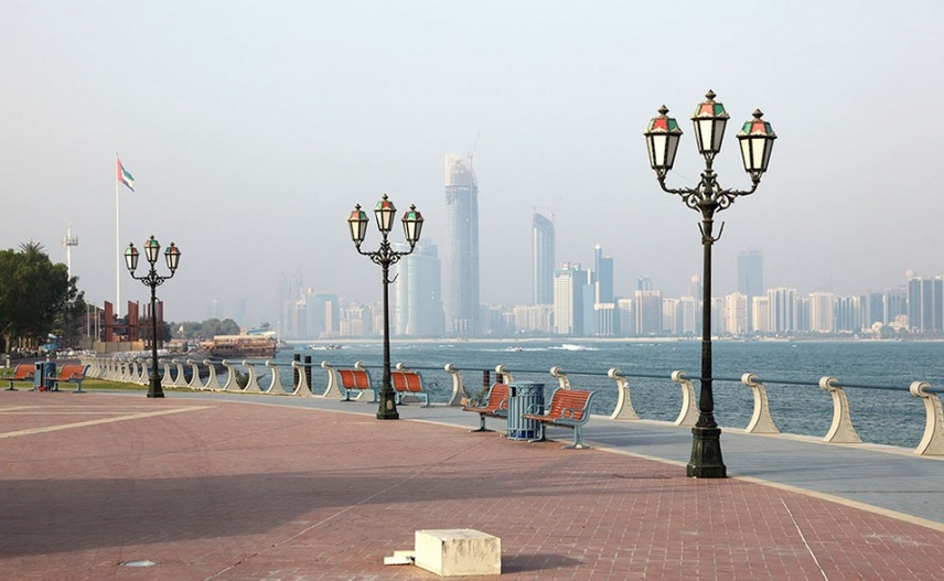 Набережная Корниш в Абу-Даби