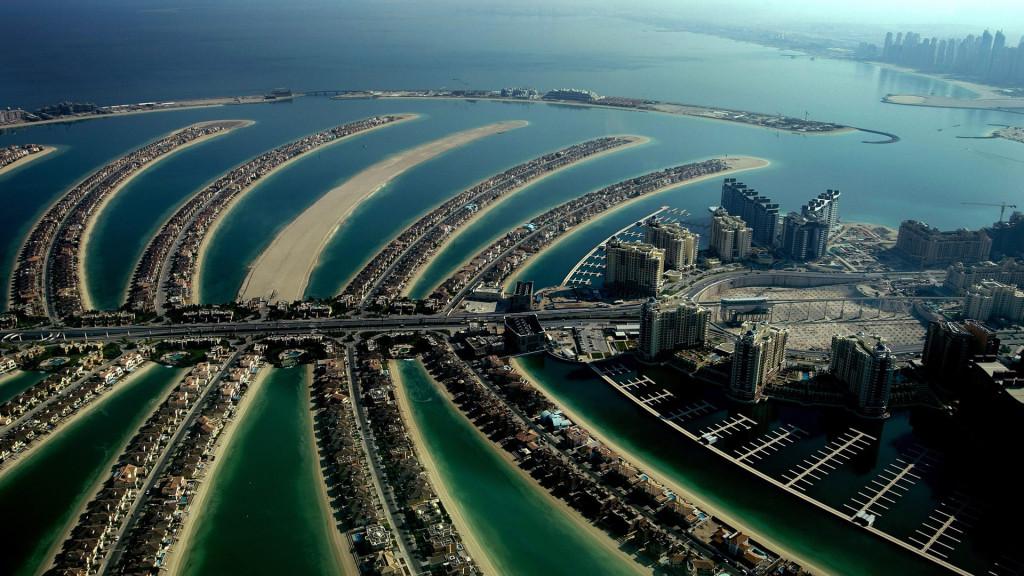 Острова Пальм. Дубай