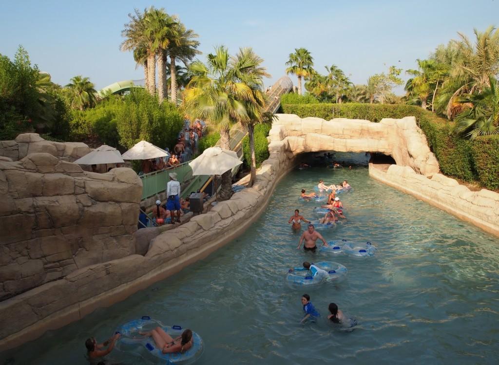 Отдых в аквапарке Aquaventure