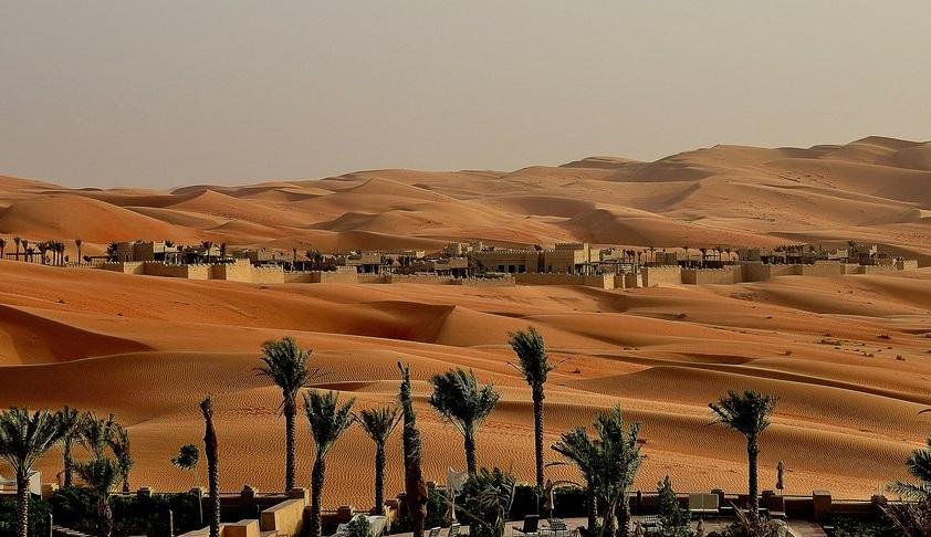 Песчанные дюны оазиса Лива