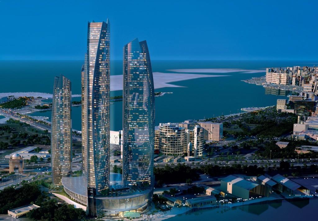 Пятизвездочный отель Jumeirah at Etihad Towers