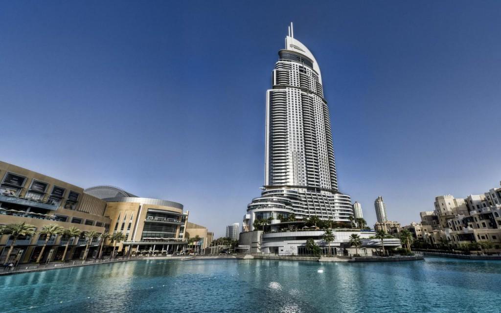 Район Даунтаун в Дубае