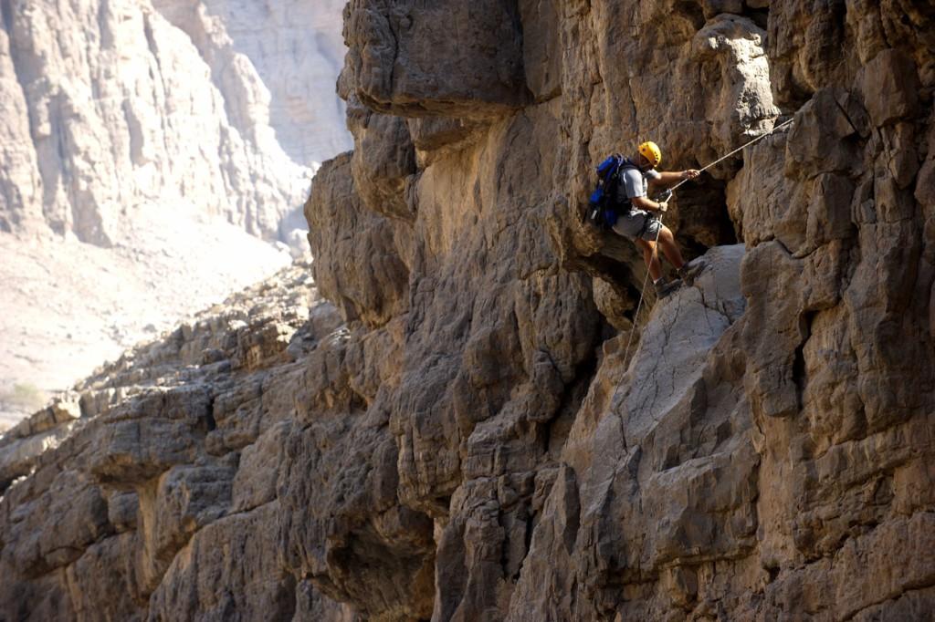 Скалолазание в Рас-аль-Хайме