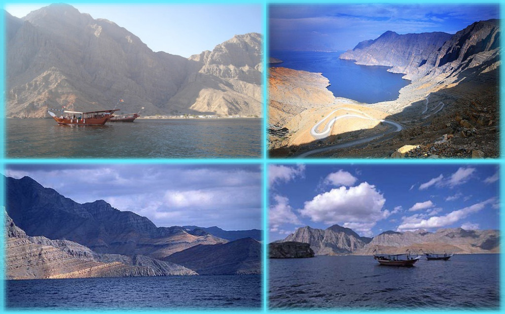 Скалы острова Мусандам