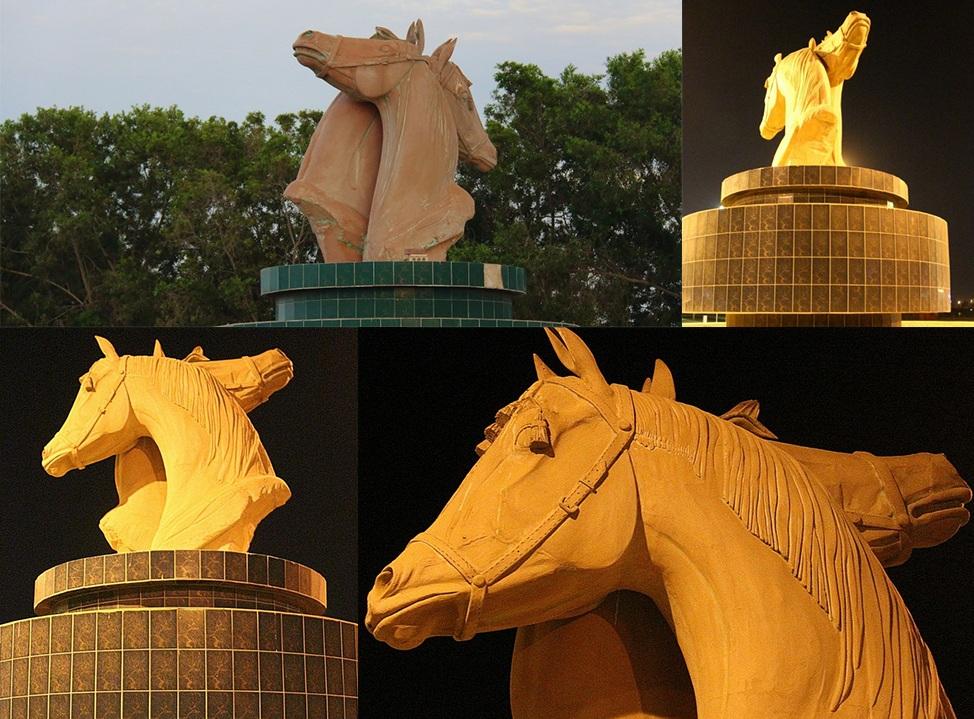 Скульптура Лошади в Умм-аль-Кувейне