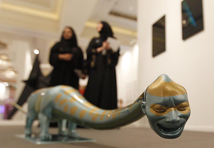 Современное искусство на выставке Art Dubai