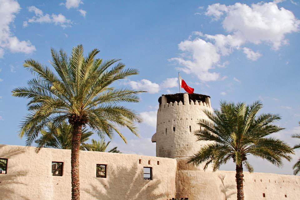 Старинный Форт в Умм-аль-Кувейне