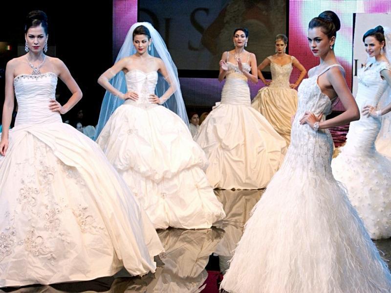 Свадебные платья на The Bride Show Dubai