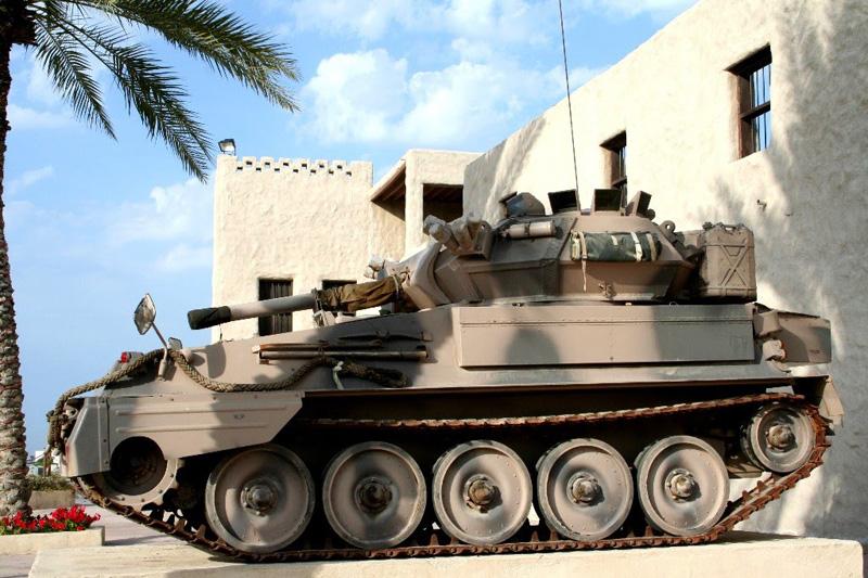 Танк на страже Форта в Умм-аль-Кувейне