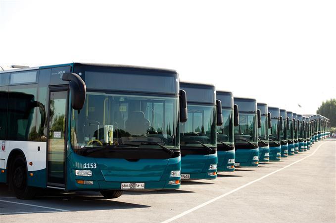 Туристические автобусы в Абу-Даби