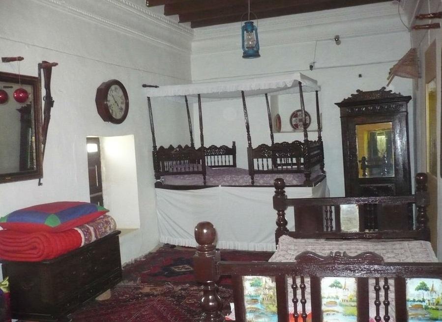 Убранство арабского дома. Экспонат музея