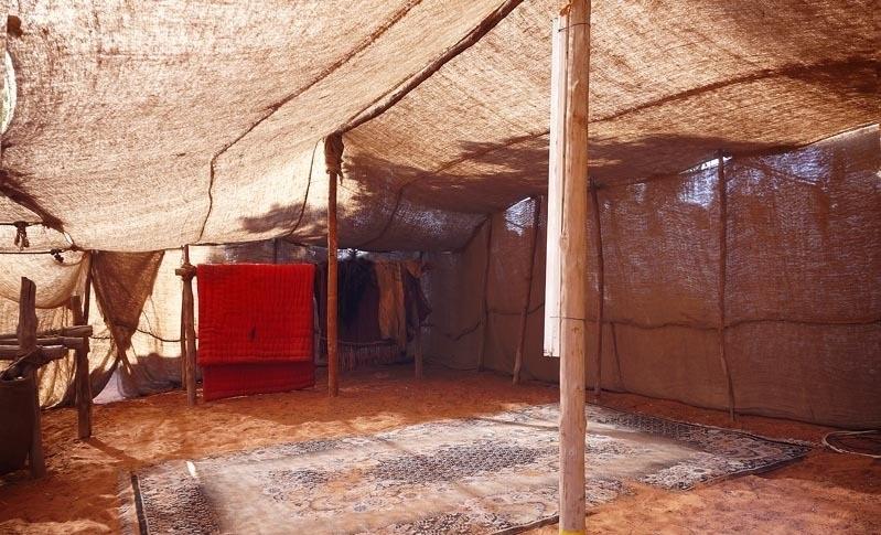 Убранство бедуинского жилья