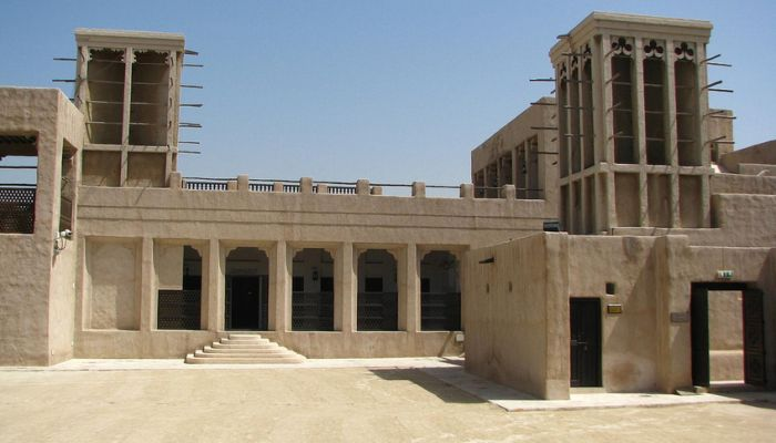 Вход в дом-музей шейха Саида