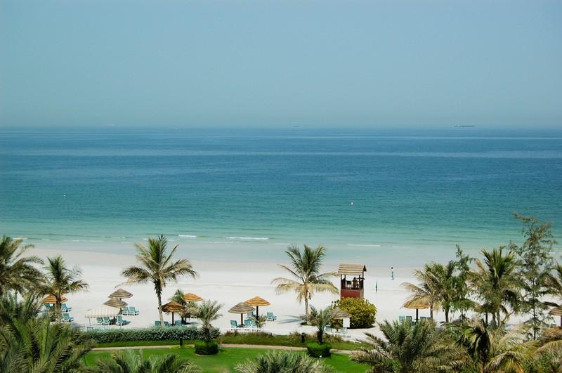 Вид на пляж Аджмана