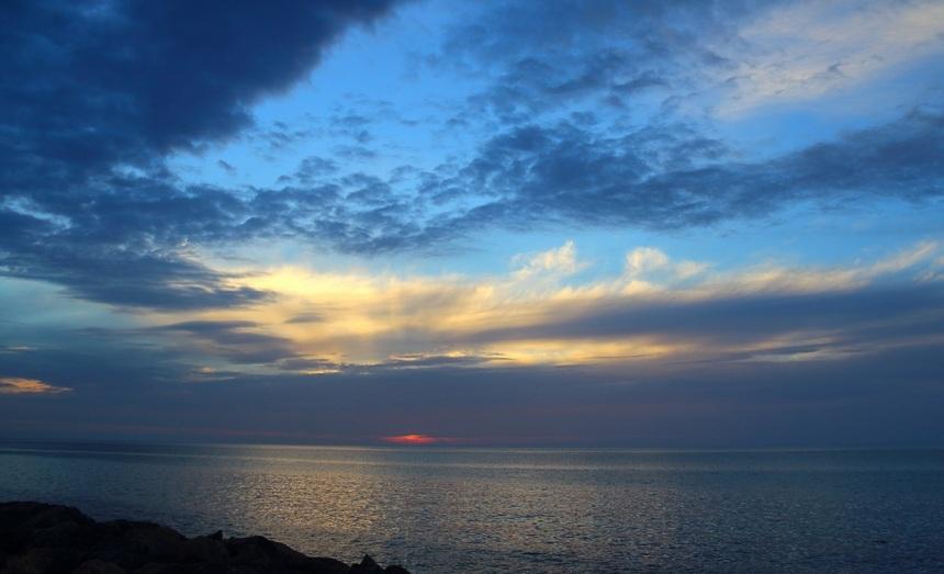 Вид на залив