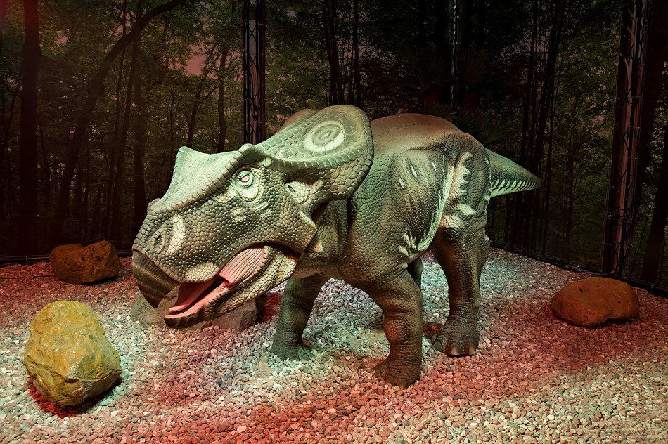 Выставка Dino Live