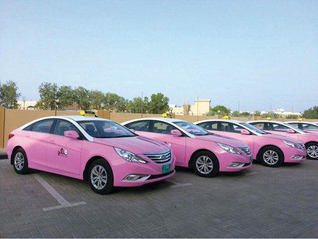 Женское такси в Дубае