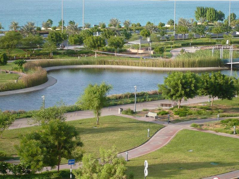 Зеленые насаждения в Абу-Даби