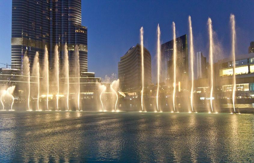 Знаменитый фешенебельный район Дубая - Даунтаун
