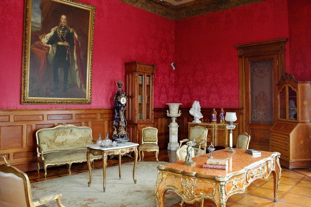 Гостиная эпохи императора Максимилиана