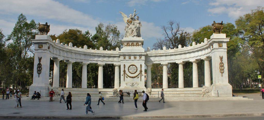 Колоннада памяти Бенито Хуареса